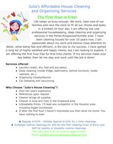Free Hour of House Cleaning and Organizing in Spring, Texas