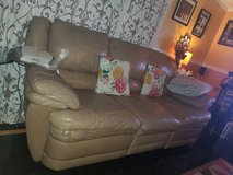 Free 3 set leather sofas in Fort Belvoir, Virginia