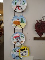 Wall Rack with 32 Seasonal Plates in Bartlett, Illinois