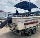 McKee Craft Offshore / Inshore Fishing Boat -Yamaha 200 Salt Water Series - Water Ready in Spring, Texas
