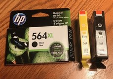 HP 564 Ink Cartridges 3 New in Glendale Heights, Illinois