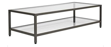 Studio Designs Camber Rectangular Glass Coffee Table in Batavia, Illinois