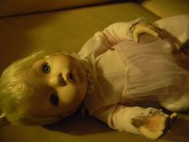 Ceramic and Fabric Baby Doll in Bartlett, Illinois
