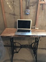 Live Edge Wood Desk Sewing Stand Legs in Elgin, Illinois