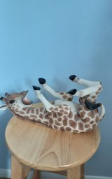 Giraffe wine bottle holder in Kingwood, Texas