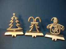 THREE METAL STOCKING HANGERS in St. Charles, Illinois