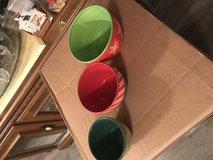 Ceramic bowl set in Fort Campbell, Kentucky