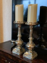 """Large 15"""" Pottery Barn Candle Holders in Yongsan, South Korea"""