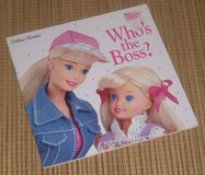 Vintage 1997 Dear Barbie Who's the Boss Soft Cover Golden Book in Bolingbrook, Illinois