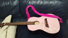 NEW girls Guitar First Act -Real strong quality Bran NEW Pink with white flowers in Warner Robins, Georgia