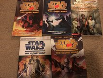 Lot of 5 Star Wars Chapter books in St. Charles, Illinois