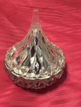 Glass Hershey Kiss container in Oswego, Illinois