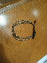 Cute sparkly gold bracelet in Naperville, Illinois