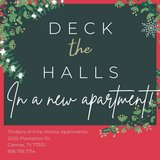 Cozy 1 & 2 bedroom apartment homes available with awesome HOLIDAY DEALS! in Conroe, Texas