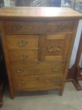 Vintage Oak Dresser in Naperville, Illinois