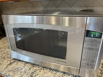 GE Profile 2.2 cu. ft. Countertop Microwave in Stainless Steel with Defrost and Sensor Controls in Quantico, Virginia