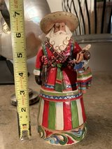 "Small Standing Mexican Santa Decor 6.5"" tall in Okinawa, Japan"