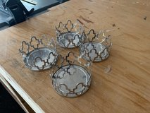 (4)Partylite candle holders small in Yongsan, South Korea