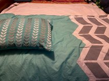 Twin blanket with pillow in Quantico, Virginia