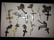 cross necklaces - lot of 11 in The Woodlands, Texas