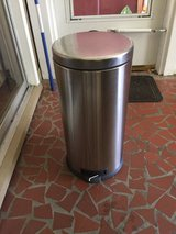 Stainless Steel Trash Container in Beaufort, South Carolina