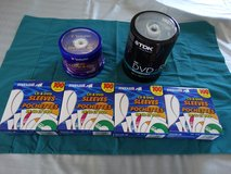 New RW DVD, DVD Dual Layer and CD/DVD Sleeves in Alamogordo, New Mexico