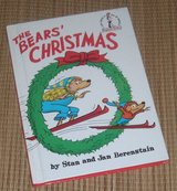 Vintage 1970 Dr. Seuss Berenstain Bears Christmas Hard Cover Beginner Book in Yorkville, Illinois