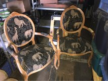 To setting chairs pretty good condition different in 29 Palms, California