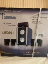 iCinema High Definition 5.1 Home Theater- Model i-HD901 (6 pcs new) in Bellaire, Texas