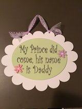 Cute sign for girl's room in Morris, Illinois