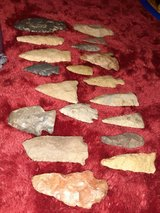 arrow heads lot in Fort Campbell, Kentucky