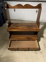 wood tv stand w/drawer in Westmont, Illinois
