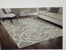 Area Rug silver/ivory 8 ft. X 10 ft in 29 Palms, California