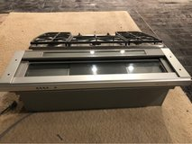 stainless steel Kitchen Aid range and hood in Camp Pendleton, California
