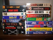 VHS movies (for VCR) #1 in Fort Hood, Texas