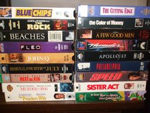 VHS movies (for VCR) #2 in Fort Hood, Texas