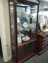 Lighted Curio Cabinet in Bartlett, Illinois