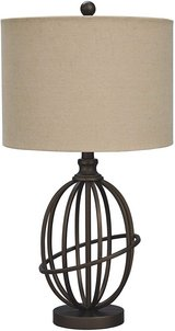 Signature Design by Ashley - Manasa Metal Table Lamp - New! in Chicago, Illinois