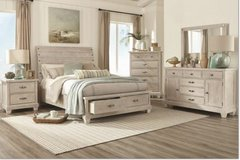 United Furniture - Sundown Bed Set - as shown with delivery in Shape, Belgium