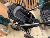 Maxi Cosi Mura 4 Plus Baby stroller with bassinet and Pebble Plus adaptors in Spangdahlem, Germany