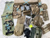 USMC CIF Issued Coyote Molle Field Pouches Gear in Oceanside, California