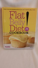 BOOK - FLAT BELLY DIET COOKBOOK in Naperville, Illinois