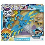 NEW My Little Pony Guardians of Harmony Spitfire and Soarin' Figures in Morris, Illinois