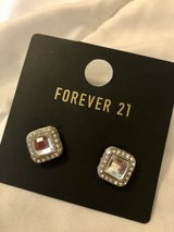 Rhinestone Statement Stud Earrings in Okinawa, Japan