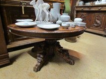 Living room table oak Henry II antique table in Ramstein, Germany