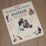 Breaking Bad Habits in Dogs Soft Cover Book in Oswego, Illinois