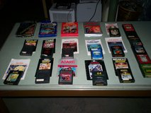 21 Atari 2600 games - 15 with instructions & 6 without in Elizabethtown, Kentucky
