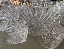 Crystal Punch Bowl in Elgin, Illinois