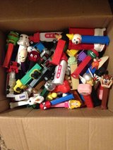 box of PEZ dispensers in The Woodlands, Texas
