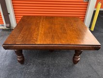 Antique SOLID Qtr Oak 5-Leg Table in Cherry Point, North Carolina